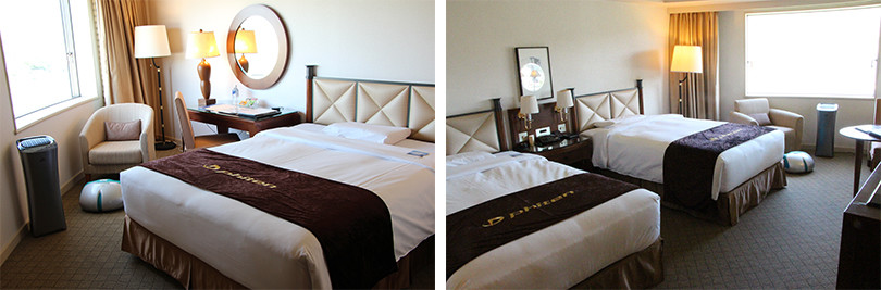 都ホテル 岐阜長良川 ファイテンルーム 寝室
