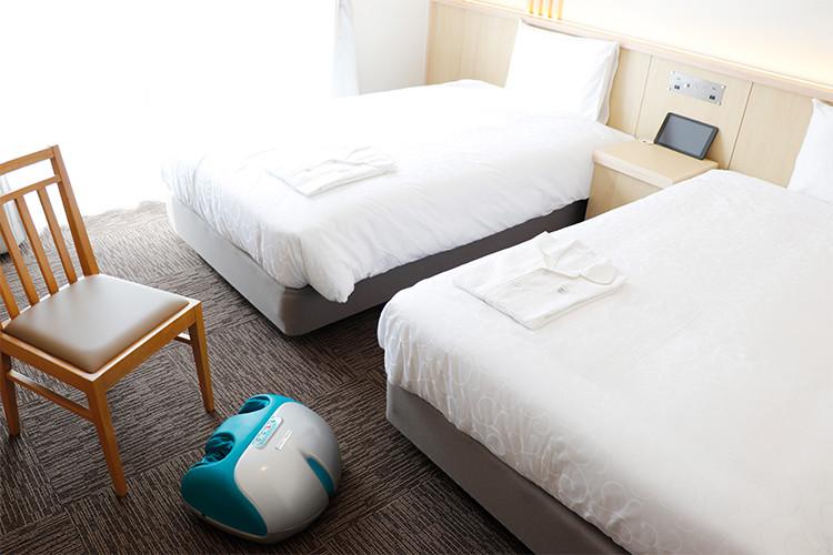変なホテル 京都八条口前 ファイテンルーム