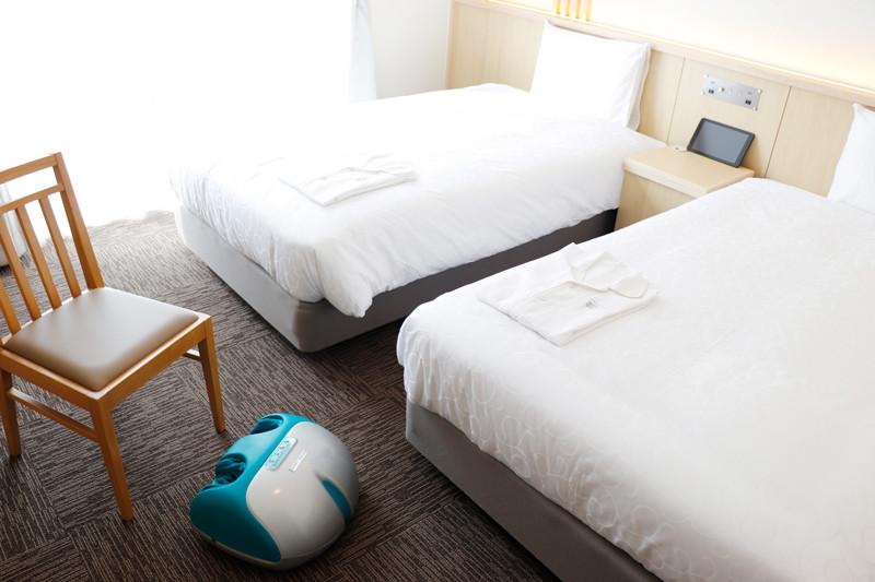 変なホテル 室内