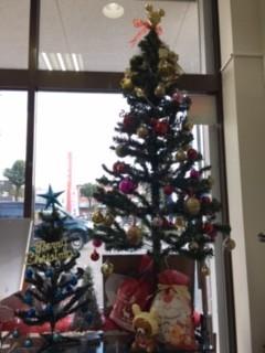 クリスマスツリー2つ.JPG